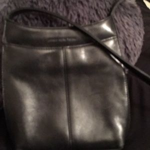 Jones New York soft black crossbody bag